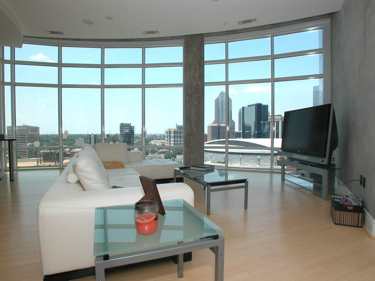 courtside penthouses  uptown charlotte luxury condos